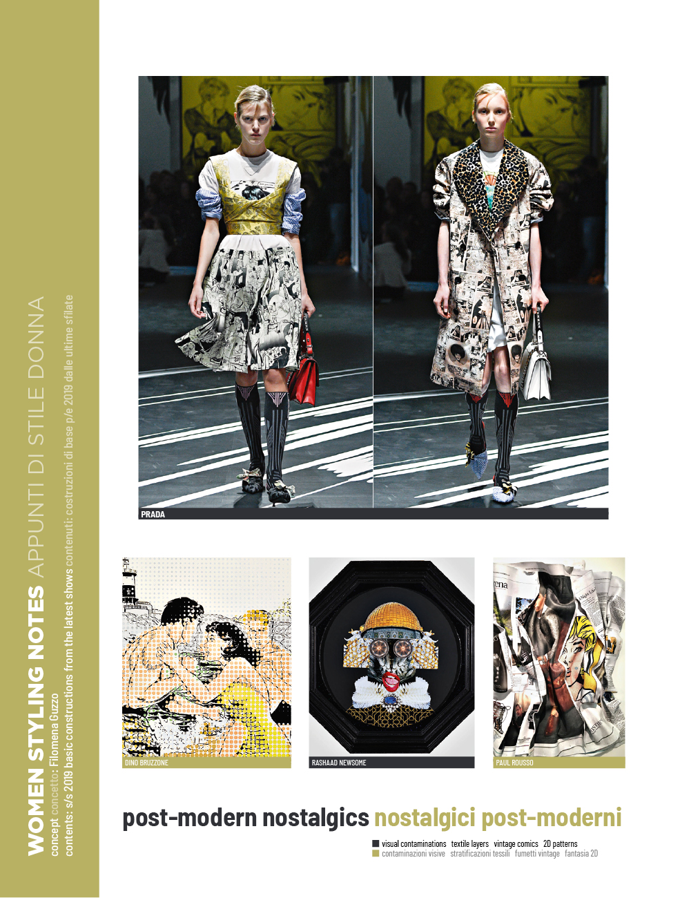 Kg 99 Magazines: ZOOM ON FASHION TRENDS #61